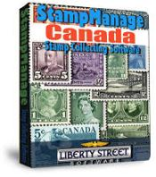 StampManage Canada Software box shot