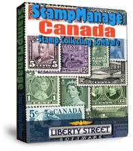 StampManage Canada Stamp Collecting Software